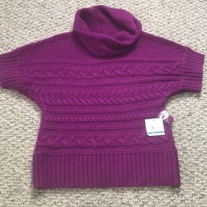Relativity Cowl Sweater NWT